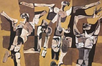 Oswaldo Guayasamin, Los Mutilados, 1976.