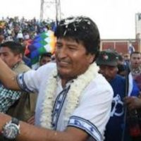 The preliminary results of the elections in Bolivia confirm decisive popular support for the government of Evo Morales. Photo- ABI