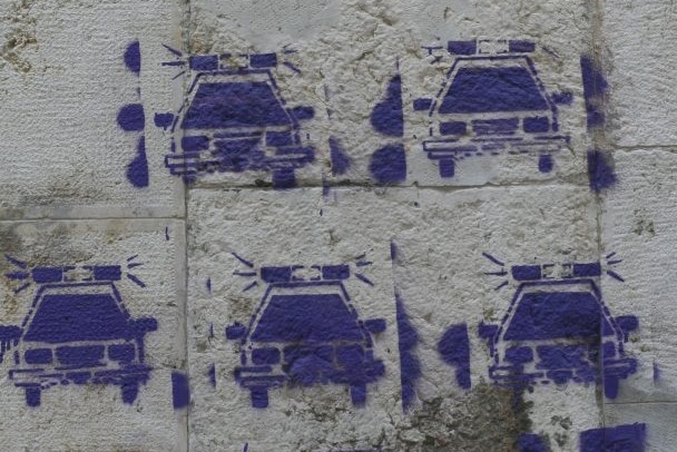 | Cop car graffiti | MR Online