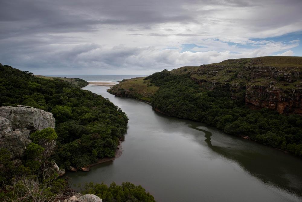 The Mtentu river