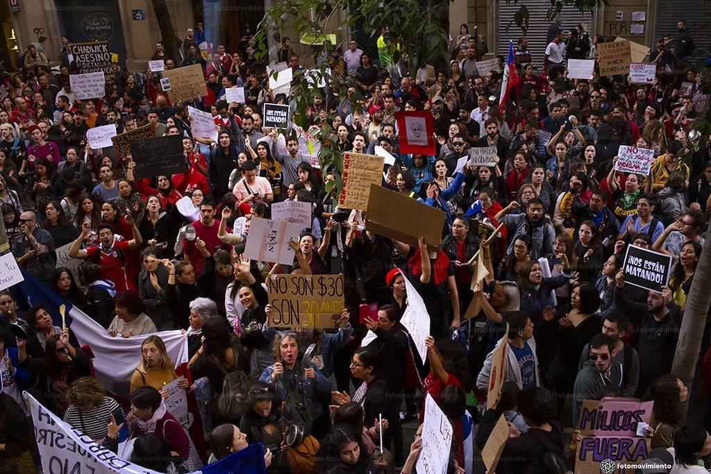 | Protests against president Miguel Juan Sebastián Piñera Echenique in Chile October 21 2019 | MR Online
