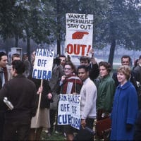 Hyde Park Protesters 1962