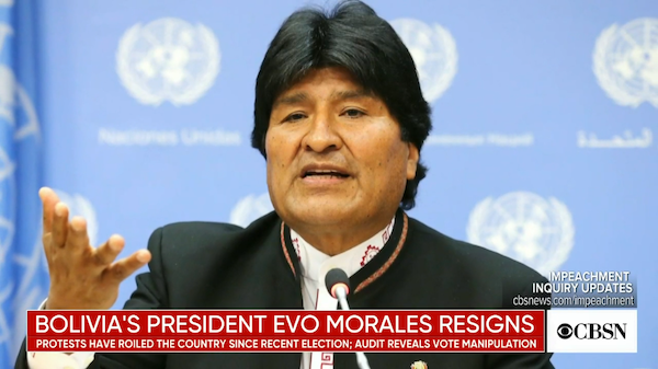The Bolivian Coup Is Not a Coup—Because US Wanted It to Happen