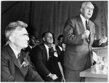 The failure of Labour's 1964 National Plan forced Harold Wilson to impose a tough package of austerity and deflation (National Archives)