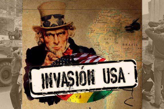 United States invasion of Bolivia