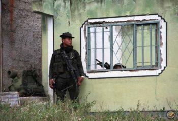 Village of El Mango, October 2015, Department of Cauca. Marcha Patriótica's communication team.
