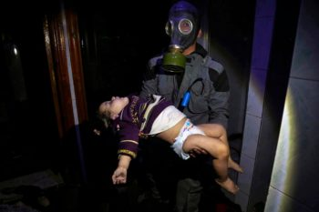 | An image published in March 2018 by the White Helmets in Douma depicts an alleged Syrian governmentinstigated chemical attack Photo | White Helmets | MR Online