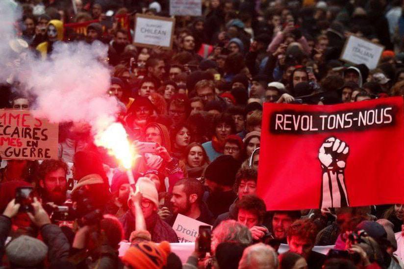 | French strikes | MR Online