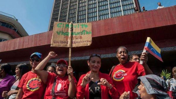 | El chavismo tiene en su bloque femenino un pilar esencial de su proyecto políticosocial Foto Rosana Silva | MR Online