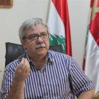 Hanna Gharib, general secretary of Lebanon's Communist Party
