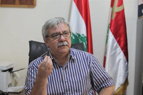 Hanna Gharib, general secretary of Lebanon's Communist Party