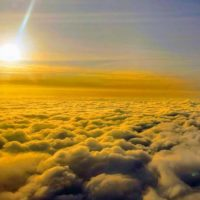 Solar radiation management is perhaps the most controversial type of geoengineering. It would create a medium to block the sunlight from reaching the atmosphere, but it would also change our planet forever. Photo credit: author.