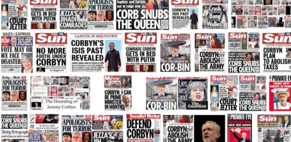 | The News Versus Jeremy Corbyn Matthew Corr Medium | MR Online