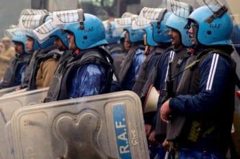 V. Arun Kumar (People's Dispatch), Rapid Action Force, Delhi, 19 December 2019.