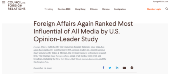 | Erdos Foreign Affairs | MR Online