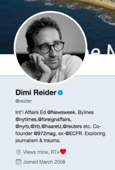 | Dimi Reider | MR Online