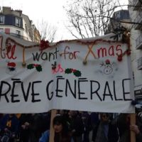 'Grévolution'- first round of a general strike