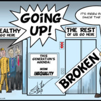 Cartoon. What inequality?!
