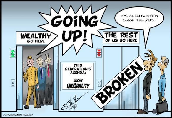 Cartoon. What inequality?!