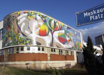 Renau mosaic in Erfurt (c. Stadtverwaltung Erfurt/Dirk Urban)