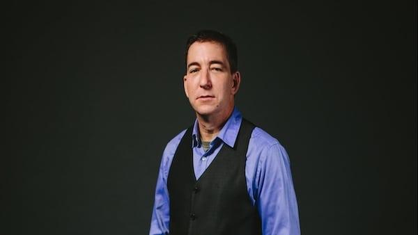 Glenn Greenwald. (Photo- The Intercept)