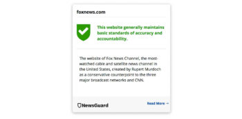 | Newsguard gives Fox News high marks for accuracy | MR Online