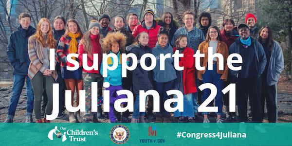 Our Children's Trust Congress4Juliana — Our Children's Trust