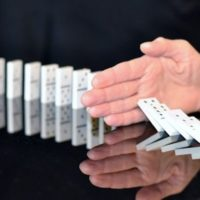Stealing corruption domino effect