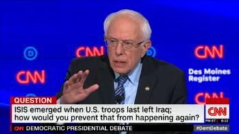 Wolf Blitzer tried to turn Ayatollah Khamenei into Bernie Sanders' running mate.