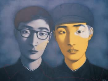 Zhang Xiaogang, Bloodline – Big Family no. 4, 1995.