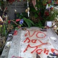 Chile: Hard Right Group Vandalizes Tomb of Victor Jara