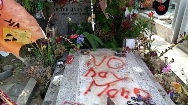 | Chile Hard Right Group Vandalizes Tomb of Victor Jara | MR Online