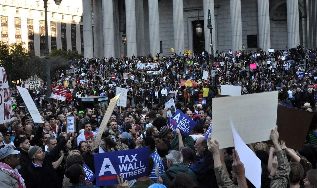 Protest, October 5, 2011 (Photo credit: Michael Fleshman)