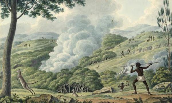 Aboriginal society, European invasion, and the bushfire disaster