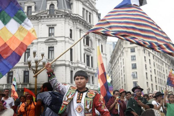 Bolivia: An Election in the Midst of an Ongoing Coup. (Photo by: Santiago Sito)