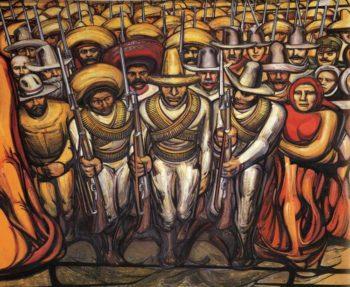David Alfaro Siqueiros, Del Porfirismo a la Revolución (1957-1966).