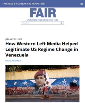 FAIR.org (1/22/20)