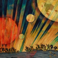 Konstantin Yuon, New Planet, 1921.
