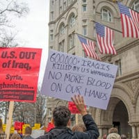 """U.S. Troops Out of Iraq!"" Washington, D.C. National Day of Action, January 4, 2019"