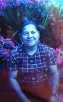 Undated photograph of María Amparo Pineda Duarte.