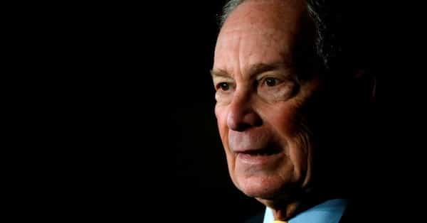 Mega-billionaire, Democratic presidential candidate, and former New York Mayor Michael Bloomberg speaks at a campaign stop at Eastern Market in Detroit, Michigan, on February 4, 2020. (Photo: Jeff Kowalsky/AFP/Getty Images)