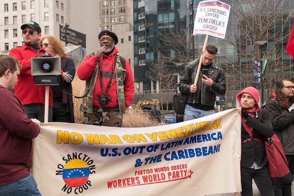 Feb 23 Protest: No US war on Venezuela! No U.S. War on Venezuela! nowaronVenezuela.org
