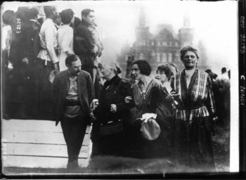 | Clara Zetkin and her comrades at the 2nd International Congress of Communist Women Moscow 1921 | MR Online