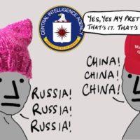 Liberal NPCs Hate Russia, Conservative NPCs Hate China