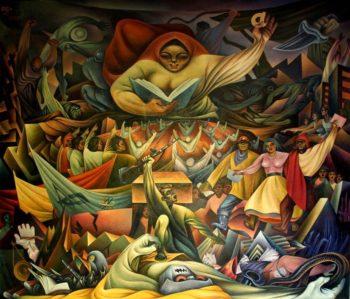 | Miguel Alandia Pantoja La educación 1960 el Monumento a la Revolución Nacional La Paz Bolivia | MR Online