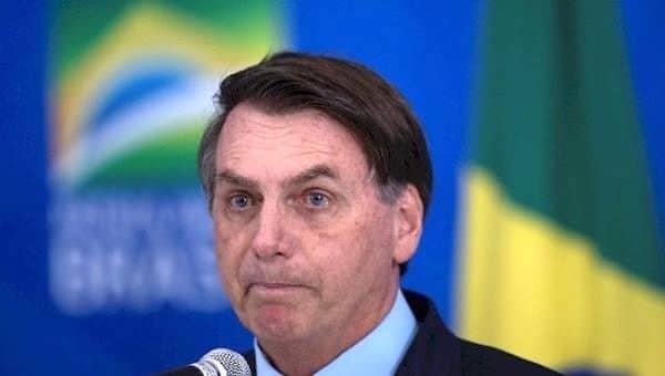 President Jair Bolsonaro at a press conference in Brasilia, Brazil, March 23, 2020. | Photo- EFE