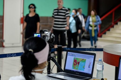 Cuba has equipped all ports of entry with advanced technology to monitor individuals arriving and detect any sign of Covid-19