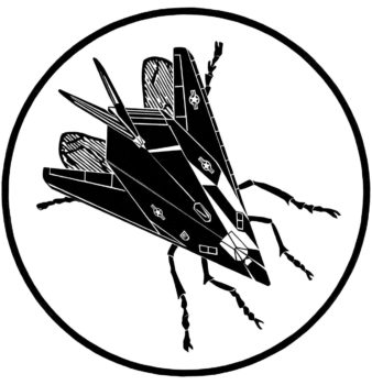 """""""Stealth fly,"""" an illustration provided by scientists to warn about a research program that they say could help weaponize insects STEALTH FLY, DYLAN EGON"""