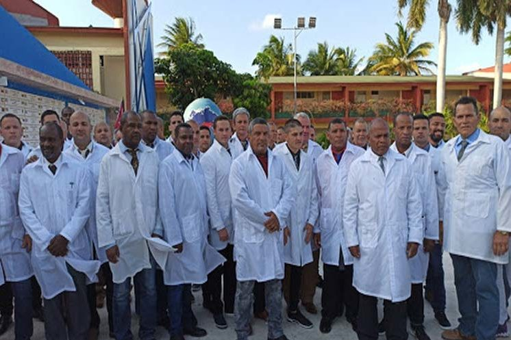 | The brigade of Cuban doctors sent to Italy to battle the Covid19 pandemic | MR Online
