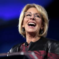 Flickr Betsy DeVos | U.S. Secretary of Education Betsy DeVos speaki… | Flickr